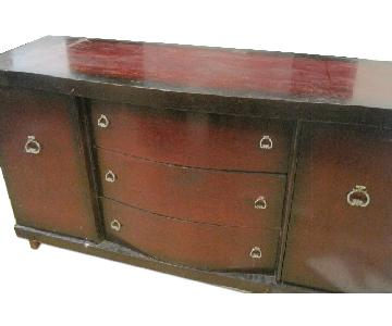 Solid Cherry Wood Sideboard/Cabinet