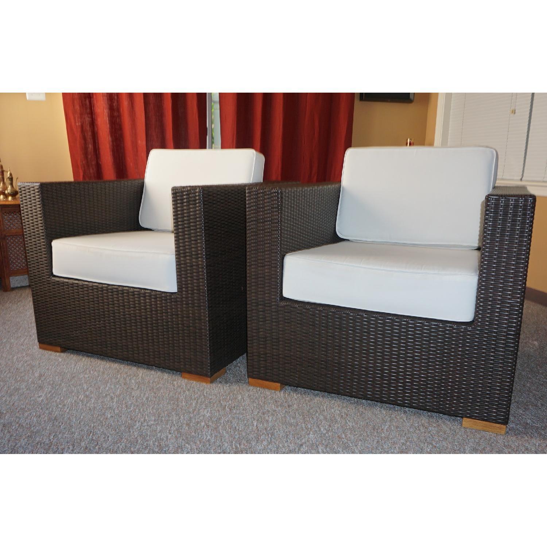 Artefacto All Weather Indoor/Outdoor Lounge Chairs - AptDeco