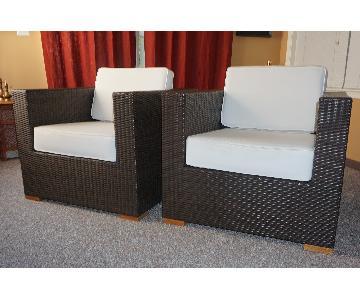 Artefacto All Weather Indoor/Outdoor Lounge Chairs