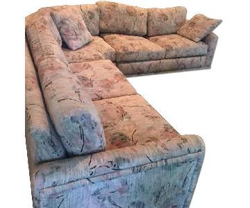 Custom 3 Piece Sectional Sofa