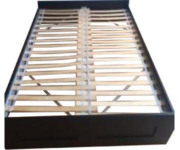 Ikea Brimnes Full Size Black Bed Frame