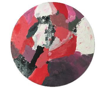 Acrylic Geometric Abstract Painting