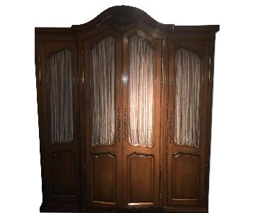 Auffray & Co Maple Wood Armoire