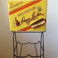 VINTAGE Peggy Lawton Store Display Rack Advertisin