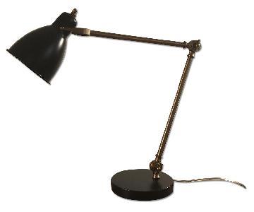 West Elm Industrial Lamps