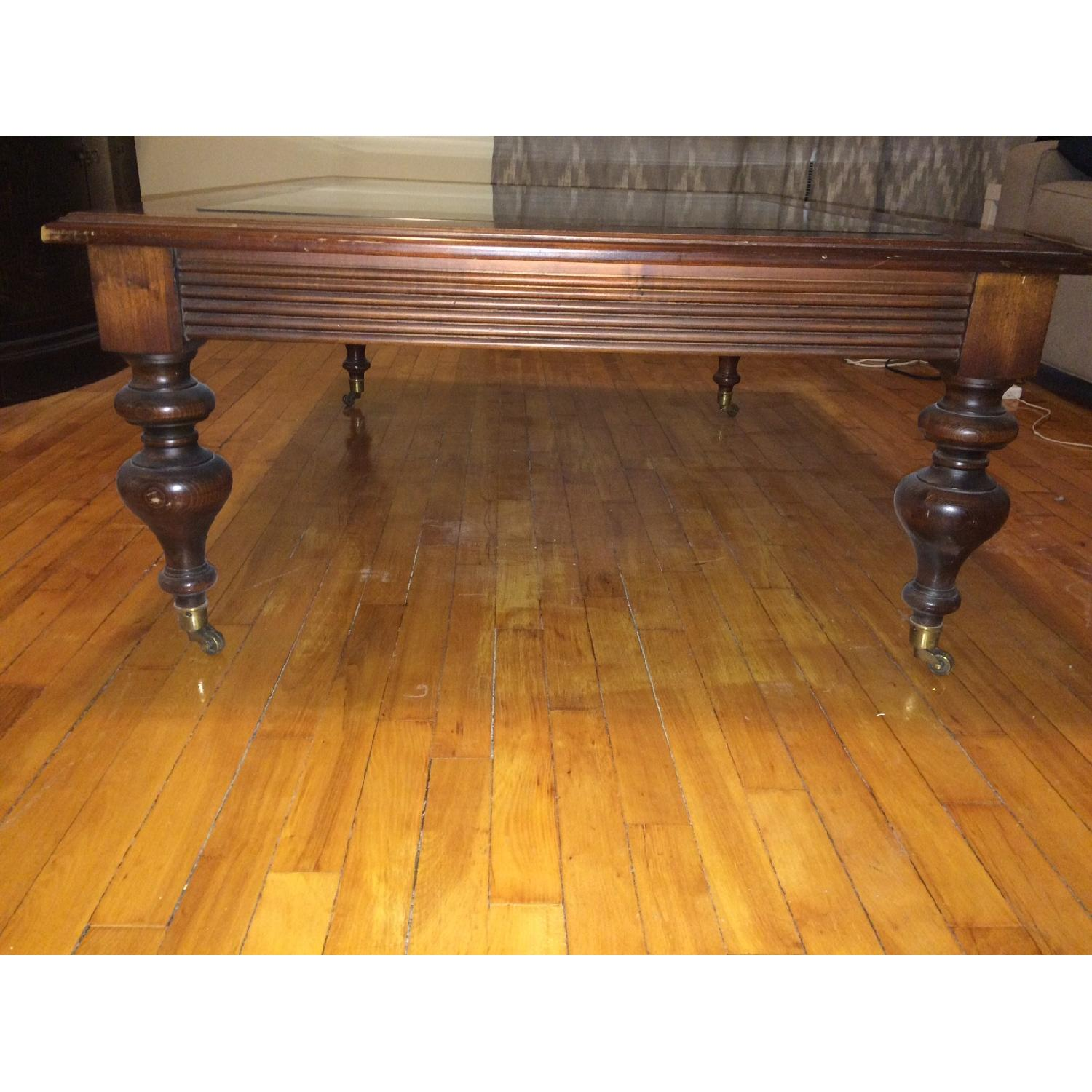 Used Ethan Allen Coffee Tables: Ethan Allen British Classics Collection Coffee Table With