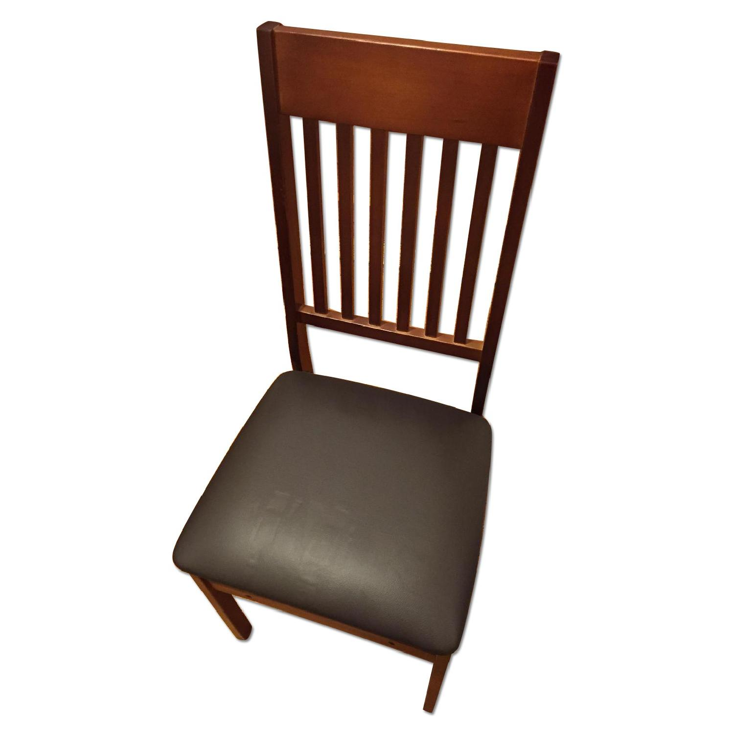 Wayfair Mission Wood Folding Chairs Set of 4