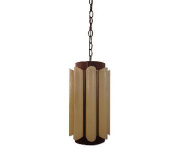 Mid-Century Modern Swag Lamp