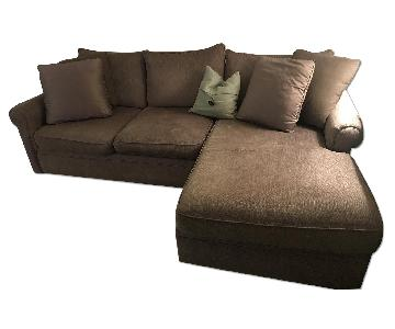 Bloomingdale's Bernhardt Chaise Sectional Couch