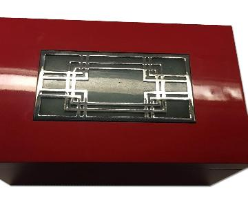 Shanghai Tang Red Lacquered Box