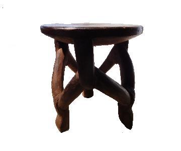 African Bamileke Stool/Side Table