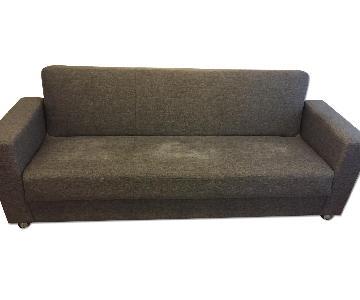 Tokyo Diego Gray Convertible Sofa Bed