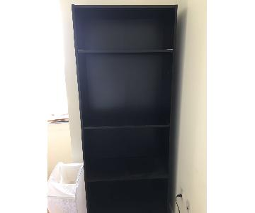 Ikea Black Bookshelf