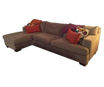 Raymour and Flanigan Toro Sectional Couch