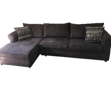 Bob's Brown Sectional Couch