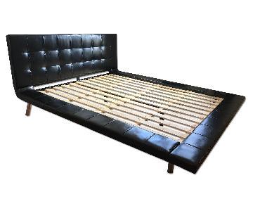 Modloft Howard Black Queen Bed Frame