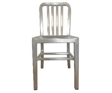 Crate & Barrel Delta Side Chairs