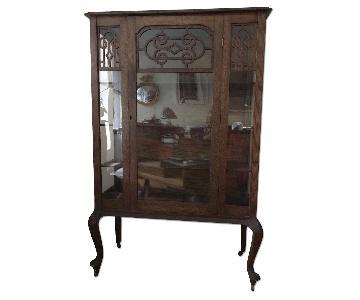Vitrine Curio Cabinet