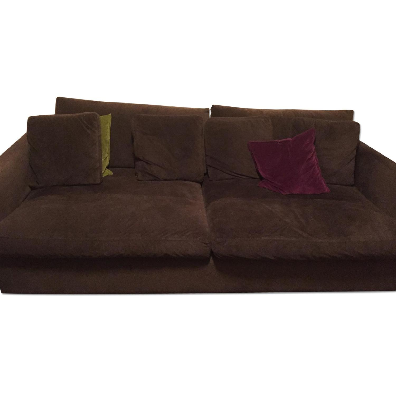 crate & barrel lounge sofa + loveseat + chaise lounge - aptdeco