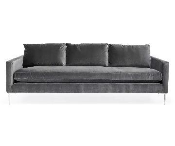 ABC Carpet and Home Cobble Hill Soho Velvet Sofa