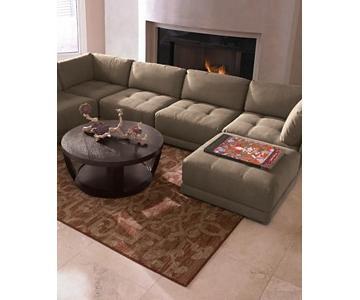 Jonathan Louis This'n'That Modular 5 Piece Modern Sectional Sofa