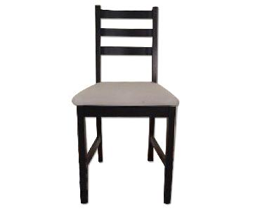 Ikea Lerhamn Upholstered Dining Chairs
