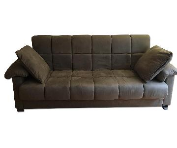 Wayfair Brown Sleeper Sofa