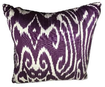 Madeline Weinrib Ikat Pillows