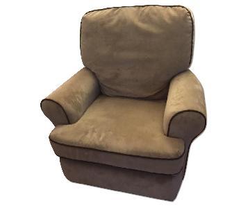 Best Chair Inc. Swivel Glider/Recliner Chair