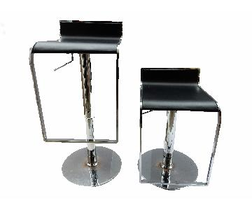 Chrome Swivel Counter/Bar Stools