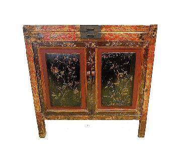 Antique Chinese Hand-Painted Chest