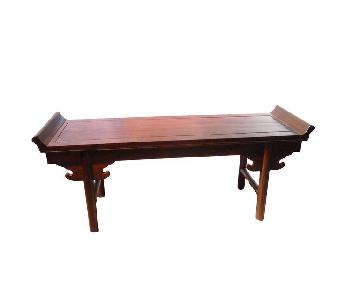 Cantonese Wood Bench/Table