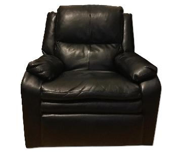 Simmons Sebring Black Recliner