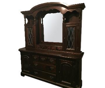 Bennington Pine Dresser w/ Mirror