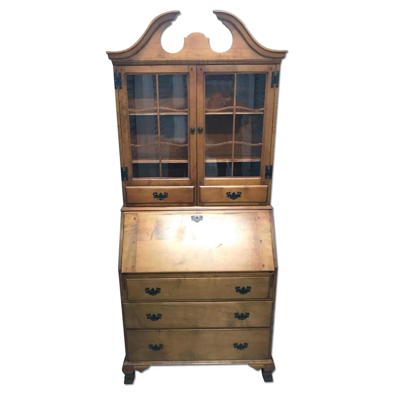 Skandia Furniture Antique Secretary Desk ...