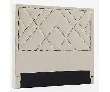 West Elm Full Size Nailhead Headboard