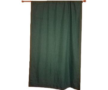 Ellery Homestyles Turquoise Blackout Curtains