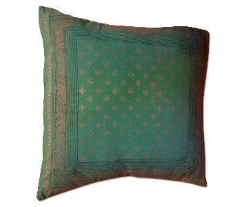 Saffron Marigold Pillow Cover