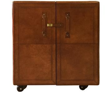 Leather Bar Box