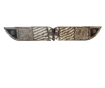 African Horizontal Butterfly Mask from Burkina Faso