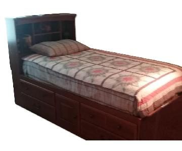 Barchan Storage Twin Size Bed Frame