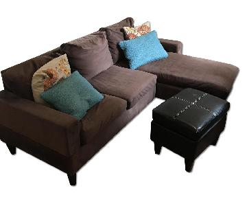 Mike's Unfinished Furniture Sectional Sofa & Ottomon