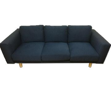 Ikea Norsborg Sofa in Edum Dark Blue