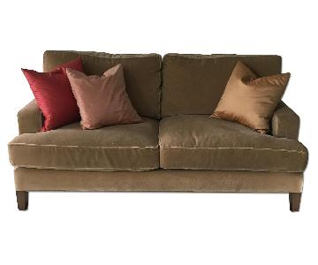 Room & Board Custom Mohair Hawthorne Sofa