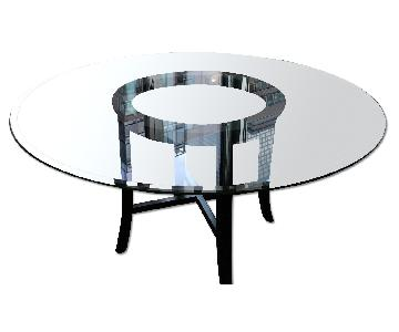 Crate & Barrel Halo Dining Table
