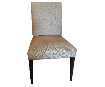 Crate & Barrel Upholstered Dining Chair