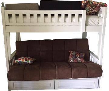 Night & Day Furniture Loft Bed w/ Sofa