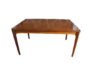 Henning Kjaernulf for Vejle Stole & Mbelfabrik Rosewood Extension Dining Table