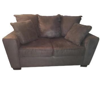 Jennifer Convertibles Heather Loveseat