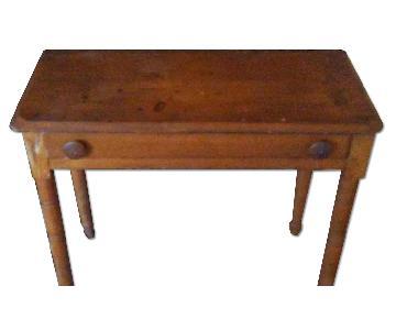 Antique 1890s Pine Table